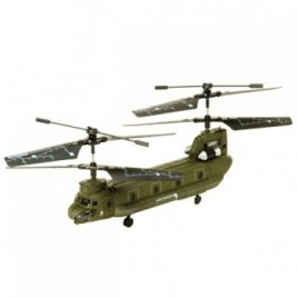 Swann Military Thunder – Gyro Balanced Double Rotor Remote Controlled Army Helicopter