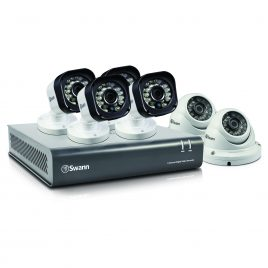 Swann DVR8-1580 – 8 Channel 720p Digital Video Recorder with 4 x PRO-T835 Cameras & 2 x PRO-T836 Cameras