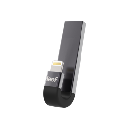 Leef iBridge 3 128GB iOS Mobile Memory – Black & Grey