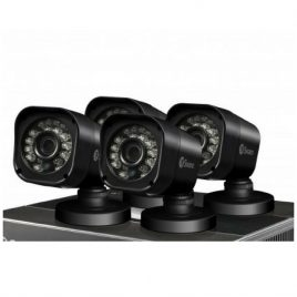 SWANN 4 PACK PRO-T835 – 720p HD Bullet Security Camera (BLACK)