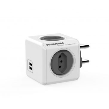 Allocacoc Powercube Original USB Grey (Type M/N)