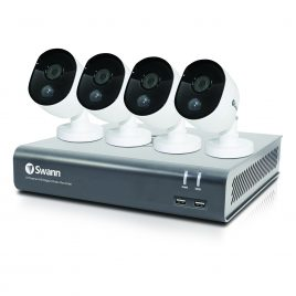 Swann 8 Channel Security System: 1080p Full HD, 1TB DVR with 4 x 1080p Thermal Sensing Cameras