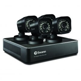 Swann DVR4-1590 – 4 Channel 720p Digital Video Recorder & 4 x PRO-T835 Cameras