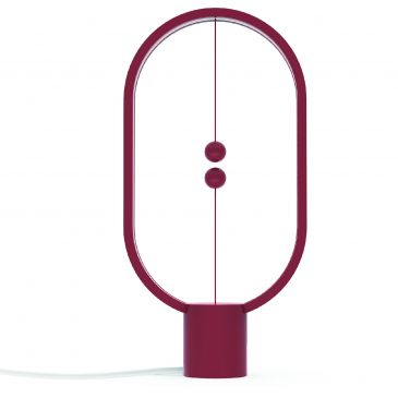 Allocacoc Heng Balance Lamp – Red Plastic