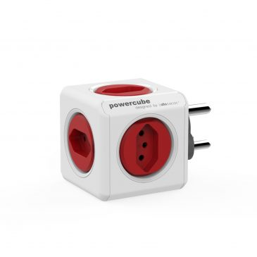 Allocacoc Powercube Original Red (Type M/N)